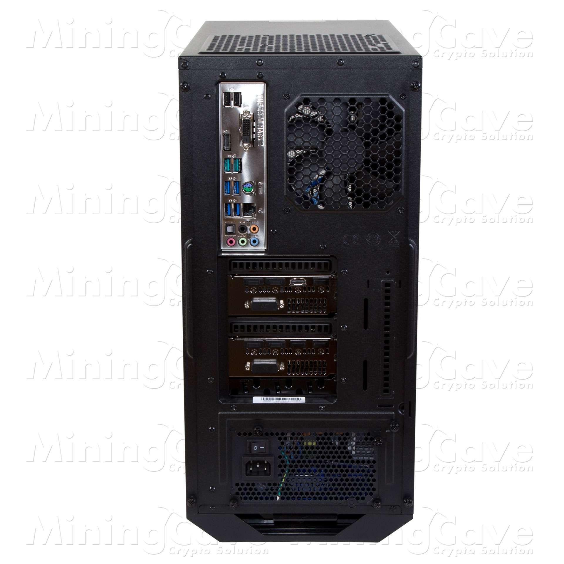 MINING PC - 2 GPU - RTX2080 11GB TI
