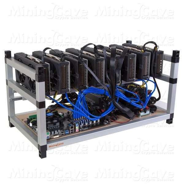 RIG 8 GPU - RX590 8GB - 2 POWER SUPPLY