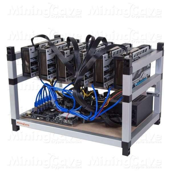 RIG 6 GPU - GTX1070 8GB TI - 1 POWER SUPPLY