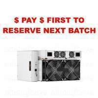 RESERVE YOUR MINER